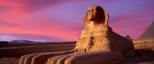 Le Grand Sphinx Egypte