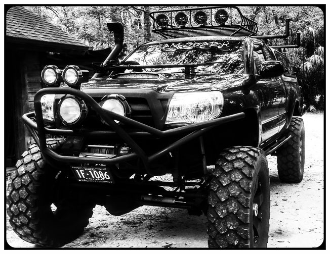 Juan C. Levesque, Motorsports Enthusiast; Custom Built 2005 Toyota Tacoma X-Runner.
