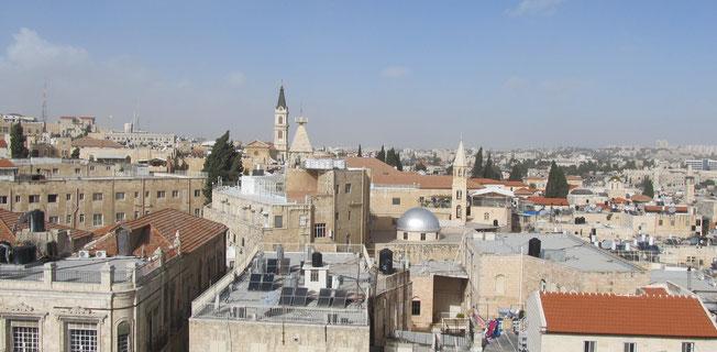 Old City of Jerusalem view
