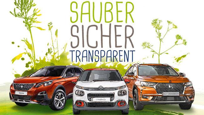 Sauber Sicher Transparent - Citroen bei Autohaus Strasser Rosenheim