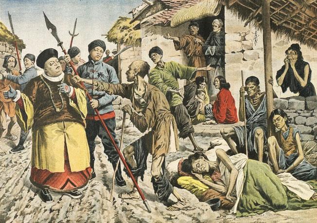 3 mars 1907. Famine 1. Le Petit Journal, Supplément illustré, et la Chine  1890-1913, 1921-1931.