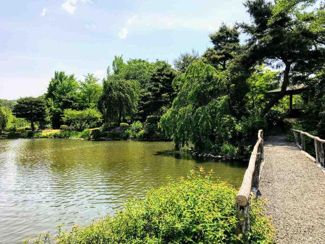 郡山市 四季の里 緑水園
