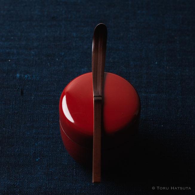 『煤竹旅茶杓.I』点前の際の目線のイメージで
