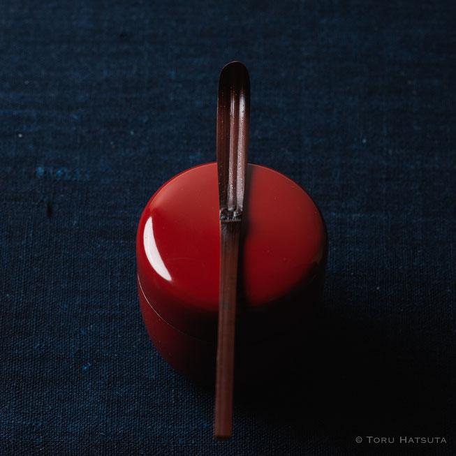 『煤竹旅茶杓.H』点前の際の目線のイメージで