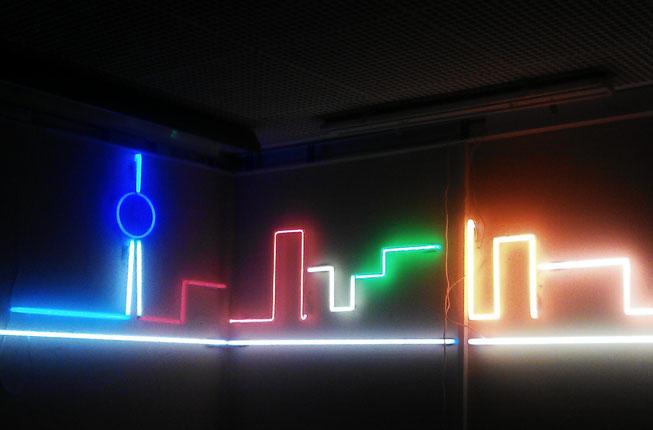 Skyline Neon // Neonjoecks Berlin