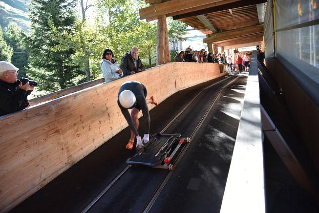 Basil Sieber an der Starter Schweizermeisterschaft 2015 in Andermatt