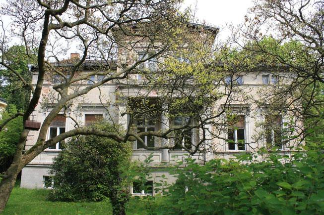 Potsdam Berliner Vorstadt Villengegend beste Wohngegend Wohnhaus Einfamilienhaus Altbau Villa Magnolie Vorgarten