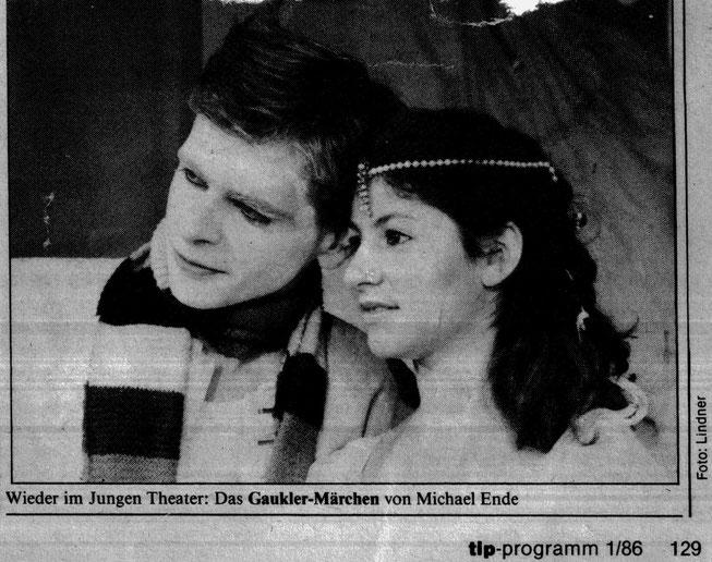 """""""Das Gauklermärchen"""" (Michael Ende) mit Tonio Arango und Silke Jensen (c) Roland-Beeneken"""
