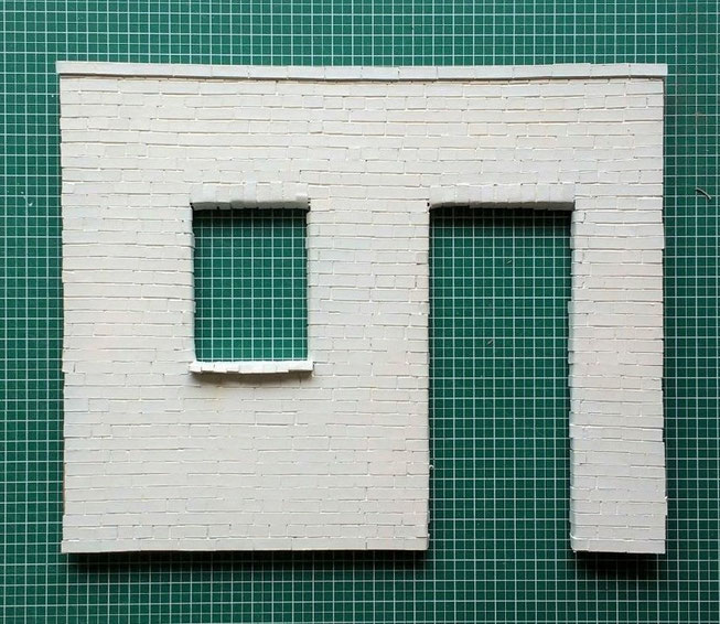 Workshop Mini-Hausfassade 1 zu 12