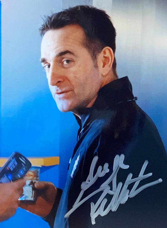 Serge Pelltier Autograph Autogramm
