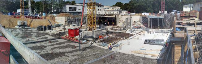 Panorama der ELKI Baustelle