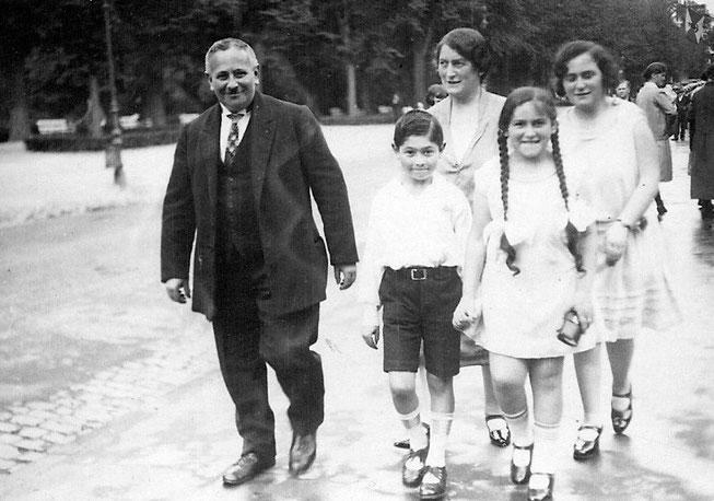 Familie Moritz Steinhardt aus Bad Nauheim