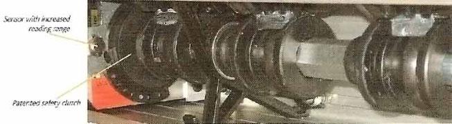 Prismavision Antrieb mit Rutschkupllung und Magentsensor (patentiertes Sicherheitssystem)