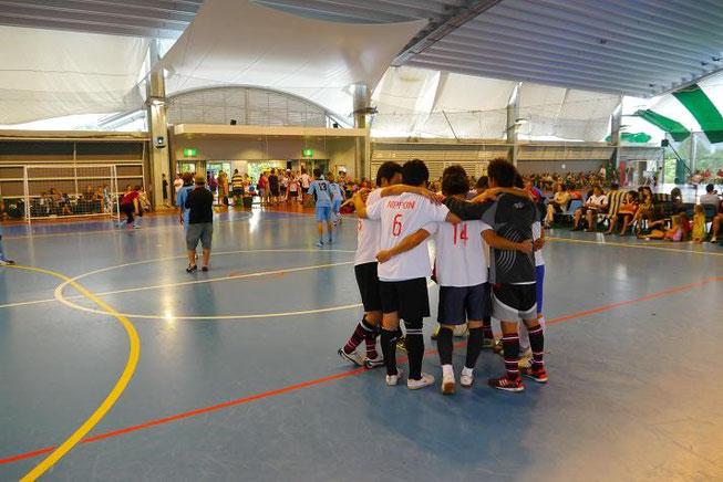 試合は決勝戦まで進むことができた。