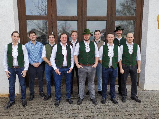 Die Verbrecher!  :)   Der Schlimmste ist unser Vorstand Stefan Käser da Zweite von rechts :)