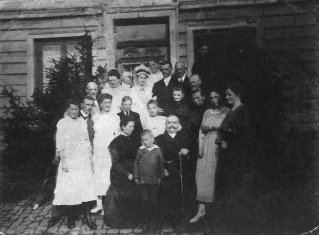 Hochzeit von Bäckermeister Heinrich Löher und Maria Ammelung