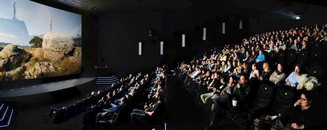 Der Kinosaal des Jugendfilmfestivals Jung & Abgedreht