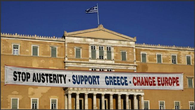 Bild: Referendum in der Wiege der Demokratie,  Juli 2015