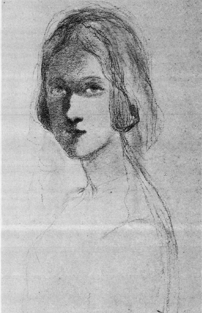 Eugène Fromentin- Portrait de Jenny-Caroline-Léocadie Chessé