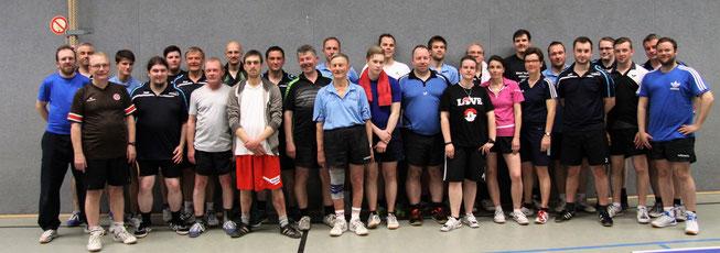 29 Aktive kämpften um die Titel in den Seniorenklassen.