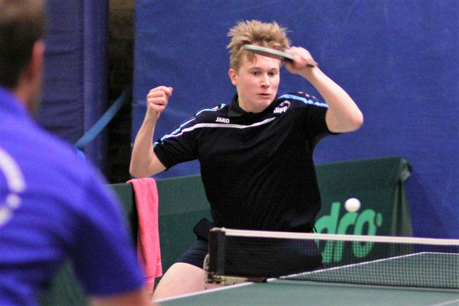 Leon Fankhänel war zusammen mit Jacek Wikarek der Matchwinner beim 9:7-Sieg in Gladbeck.