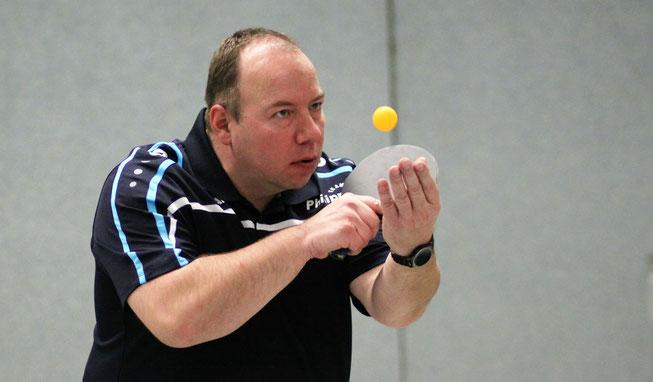 Michael Bähr punktete als einziger Hülser gegen Spitzenreiter GW Schultendorf IV.