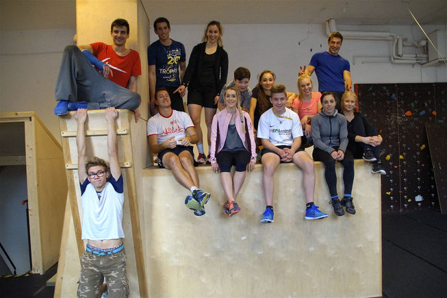 4 Elements Academy Hall in Tirol RC Radclub Vomp Österreich Regionalsport Julia Deuerlein Lucas Dominic Zauchner Christina Kathrin Schweinberger Miriam Hager Pascal Benedikter Anna Huter Christoph Krenn Oliver Laura Viktor Woisetschläger Parcour Freerunn