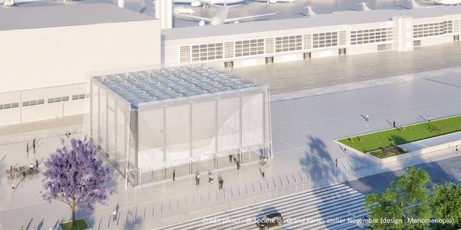 La nouvelle station de métro « Le Bourget Aéroport »