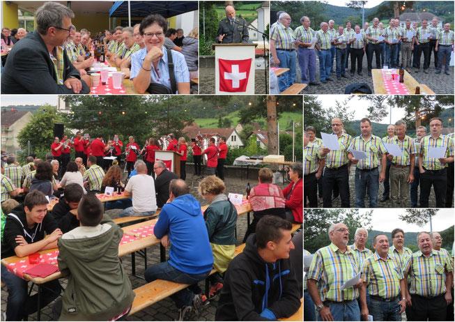 Bundesfeier vom 31.07.2016 in Wittnau mit Festredner Oberst Philipp Wagner
