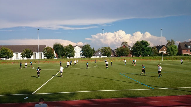 Kreispokalspiel gegen Firtinaspor Herne