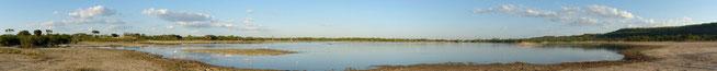 Lake Tagalala unweit der Public Campsite