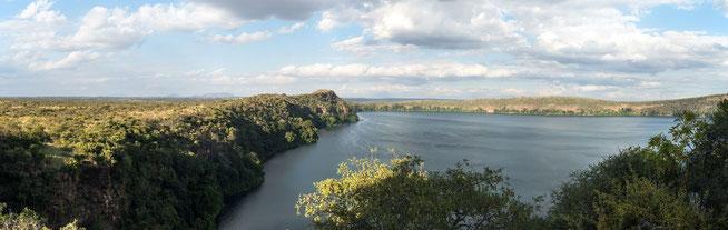 Lake Chala - Blick vom Restaurant