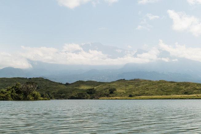 Mount Meru aus anderer Perspektive