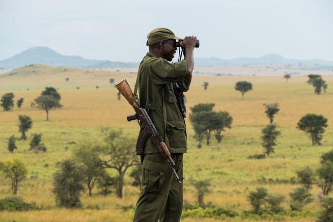 Logwee Zachary Oboya - Ranger mit Leib und Seele im Kidepo National Park und als Karamojong mit seiner Heimat tief verwurzelt