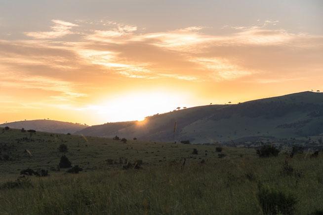 Sonnenaufgang Bologonja