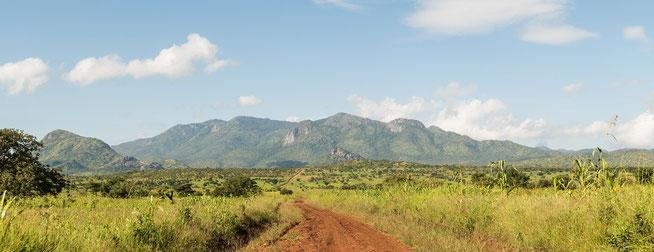 Auf dem Weg nach Kitgum