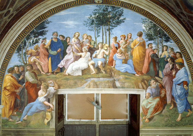 『パルナッソス』,1511年