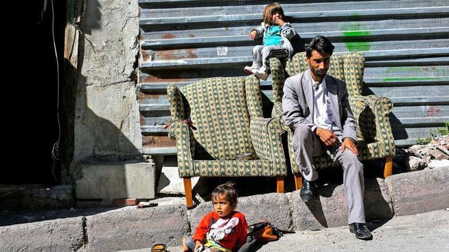 Syrische Flüchtlinge in Istanbul © Turjoy Chowdhury/dpa
