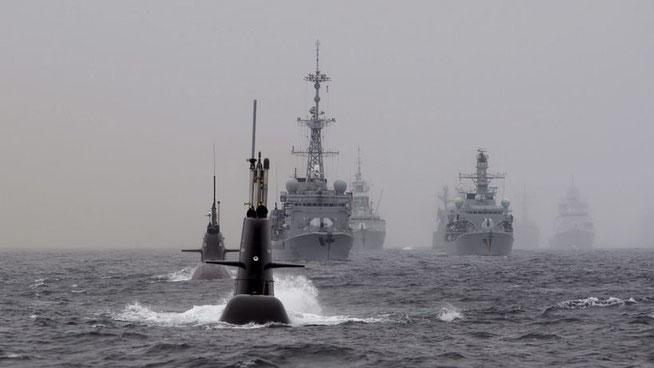Nato-Übung in der Nordsee vor Norwegen – trainiert wird die Bekämpfung von U-Booten (Archiv) © Marit Hommedal/NTB Scanpix/Reuters