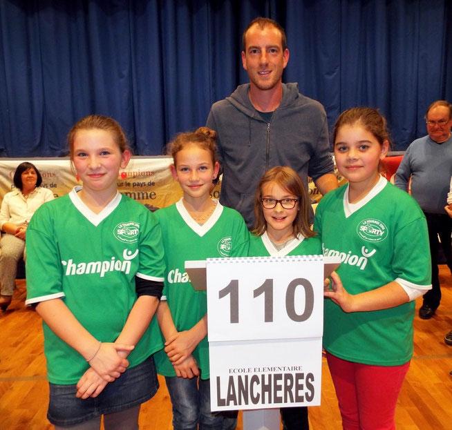 Les vainqueurs 2014 : l'école élémentaire de Lanchères