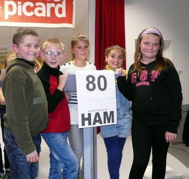 Les Champions 2014 : l'école Jean Zay de Ham