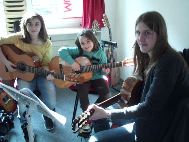 Gitarren Gruppenunterricht