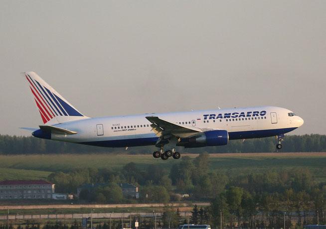 """B-767-216ER  """" EI-CXZ """"  Transaero Airlines -1"""