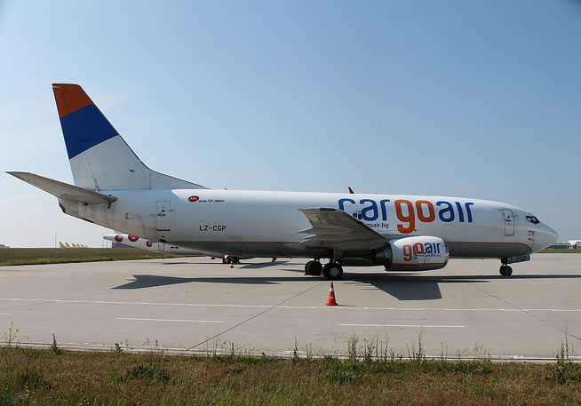 """B 737-35B  """" LZ-CGP """"  Cargo Air -3"""