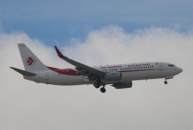 """B 737-8D6  """" 7T-VKN """" Air Algerie -1"""