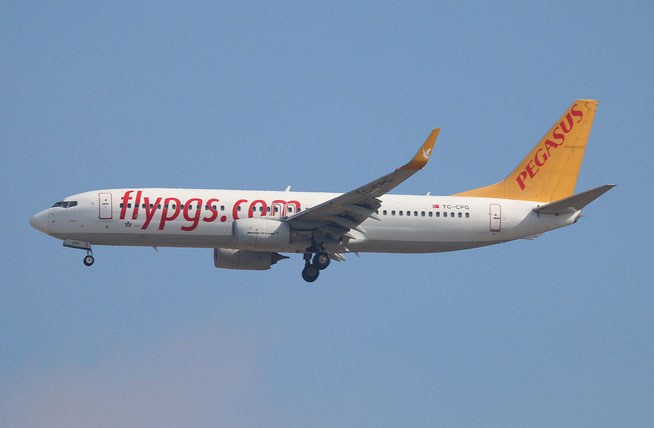 "B 737-82R/W "" TC-CPG "" Pegasus Airline -1"