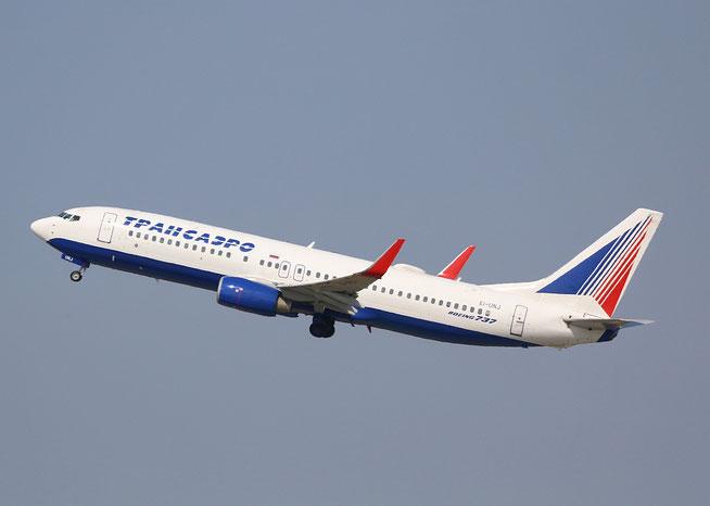 """B 737-86J  """" EI-UNJ """"  Transaero Airlines -1"""