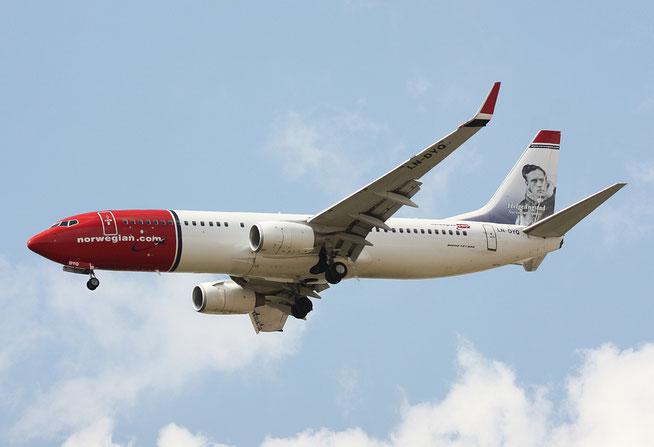"B 737-8JP/W  "" LN-DYQ ""  Norwegian Air Shuttle -1"