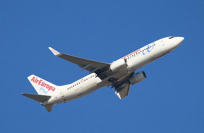"""B 737-85P/W """" EC-LVR """"  Air Europa -1"""