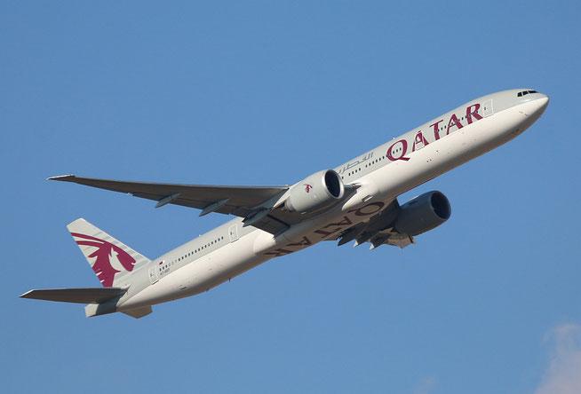 """B 777-3DZ(ER) """" A7-BEF """" Qatar Airways -1"""